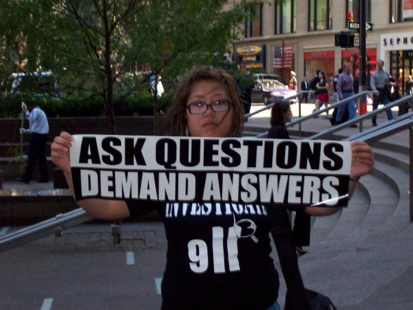 Ask Questions, demand answers