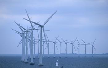 Parques eólicos en el mar
